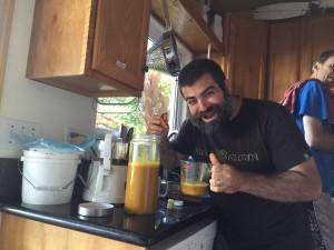 Fresh Pressed Turmeric Juice