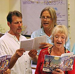 Dorian Carter with Polestar Choir
